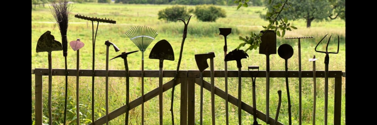 image outils jardin